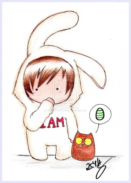 [Animation Pics] Owl City Chibi cực cute! EasterBunny