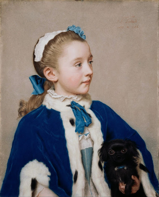 Jean-Etienne Liotard - Maria Frederike van Reede-Athlone at Seven - Google Art Project