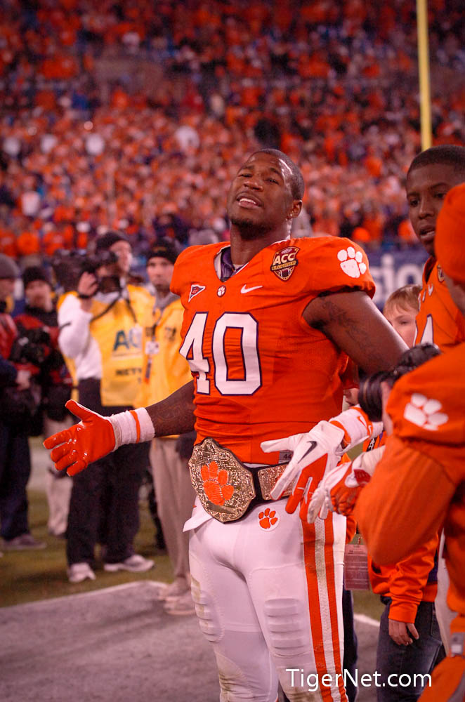 2011 ACC Championship Photos - 2011, ACC Championship, Andre Branch, Celebration, Football, Virginia Tech