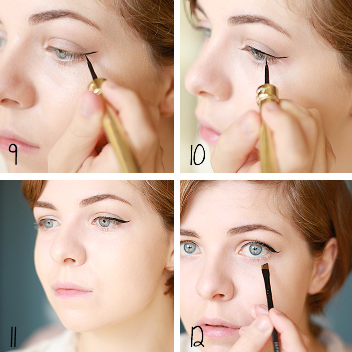valentine's day makeup, fresh and natural makeup, what makeup for a romantic date, how to apply eyeliner, light contouring