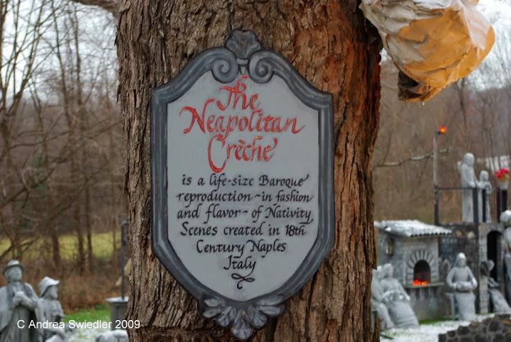 Neapolitan Creche Gaylordsville CT
