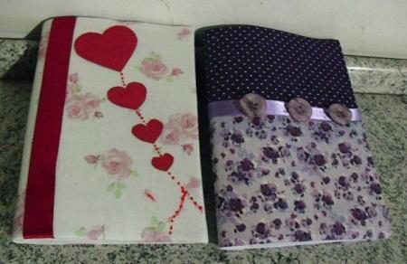 Customização de cadernos