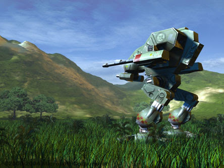 Game PC Terbaru Terbaik Tahun 2012 - Mechwarrior