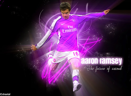 aaron ramsey desktop wallpapers