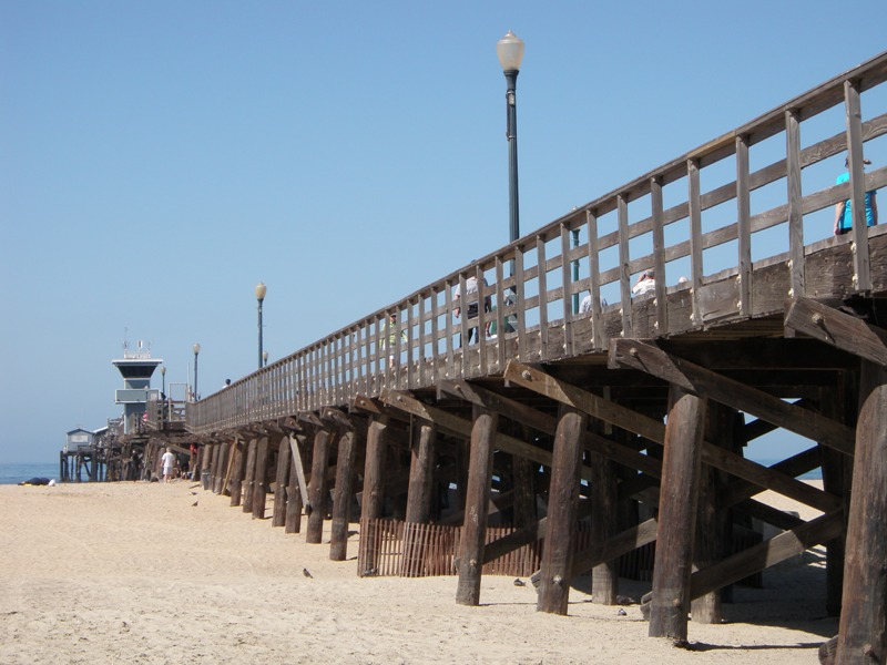 Los Angeles to San Diego • Seal Beach Pier