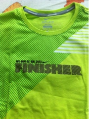 Nike We Run SG 10km 2012 Finisher Shirt