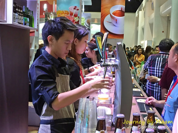 ThaiFex 2015 สิงห์_Beer Free