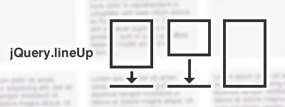 ブロック要素の高さを行毎にあわせるjQueryプラグインを習作する