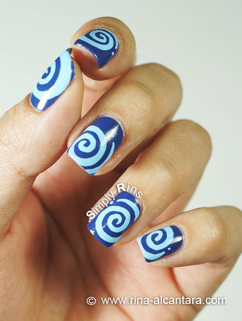 Round and Round Nail Art Design - Parting Shot