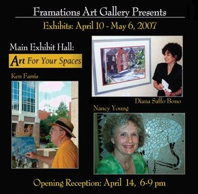 Art For Your Spaces: 2nd Annual Exhibit