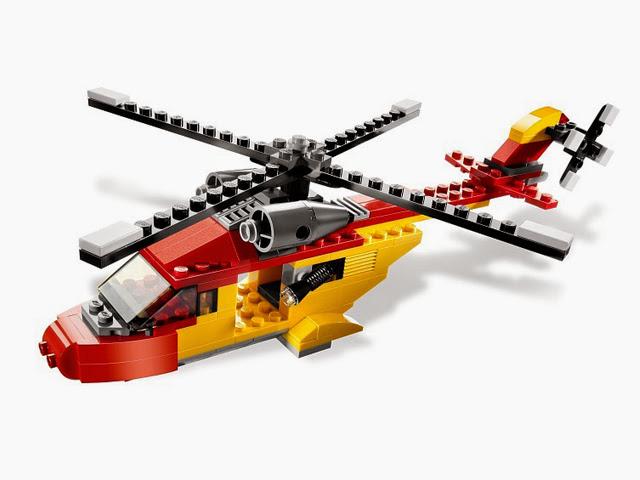 5866 レゴ クリエイター レスキューヘリ