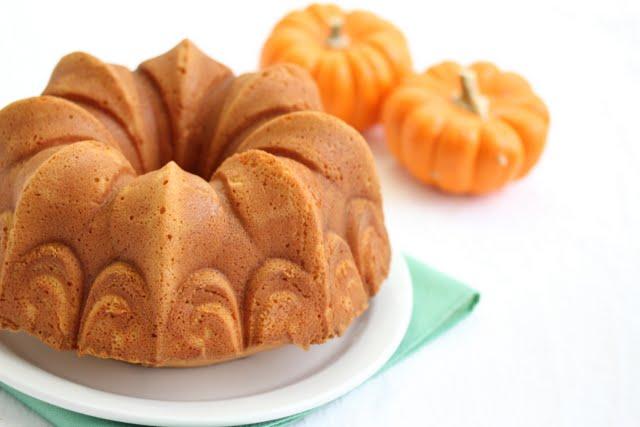 photo of a Pumpkin Pound Cake