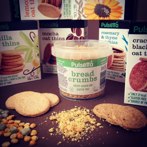 Foodie Parcels In The Post - April 2015 - Review - Pulsetta Gluten Free Biscuits & Breadcrumbs