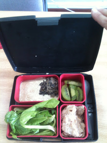 Lunchbox with food