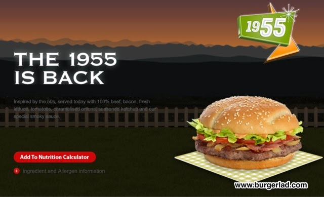 McDonald's 1955 Burger Review