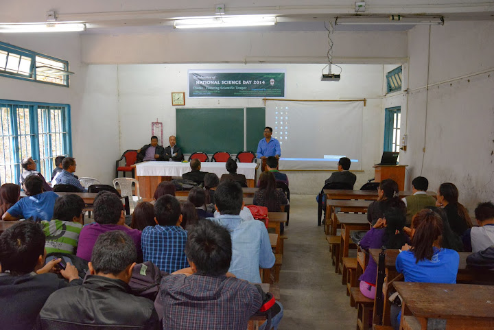 National Science Day 2014 observed at Pachhunga University College.