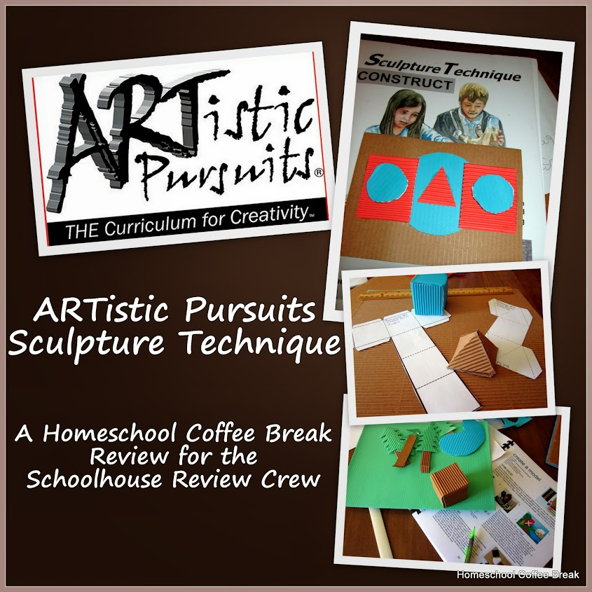 ARTistic Pursuits Sculpture Technique - Schoolhouse Crew Review @ kympossibleblog.blogspot.com