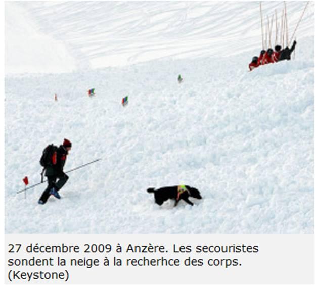 Avalanche Alpes Bernoises, secteur Wilhorn, Le Bâte - Les Rousses - Photo 1