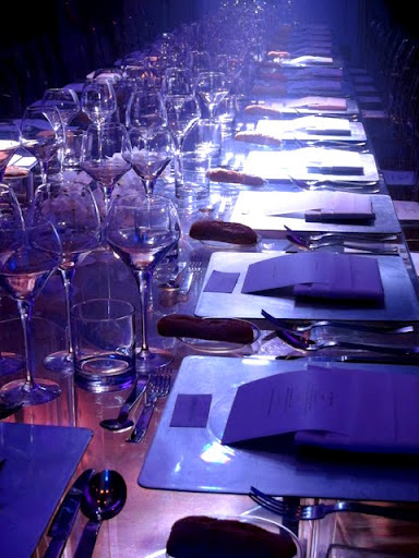 Table at a dinner at Somerset House in London