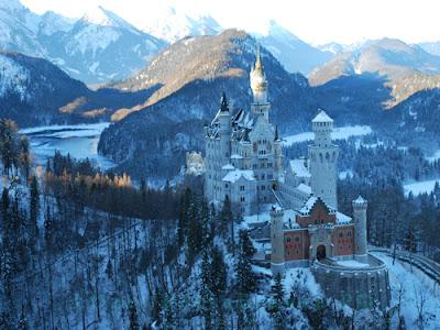 Замок Нойшванштайн, Германия, Neuschwanstein, Deutschland, КостаБланка.РФ