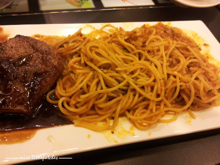 Cafe Indulge - Sirloin Steak Pasta