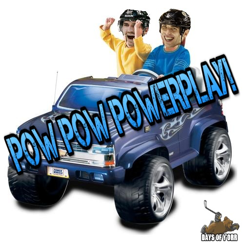 Patrice Bergeron Zdeno Chara Power Play