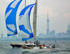 J/27 offshore racer cruiser day sailor sailboat- crushing Canadian competition!