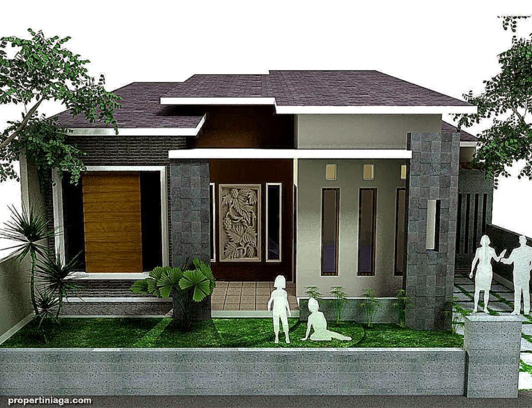 Foto Model Rumah Minimalis Modern Gallery Taman