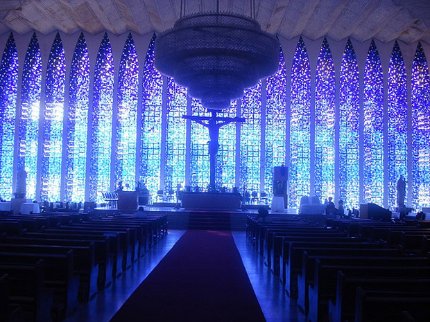 Dom Bosco Cathedral in Brasilia, Brazil