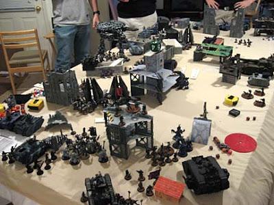 Warhammer 40k Apocalypse game