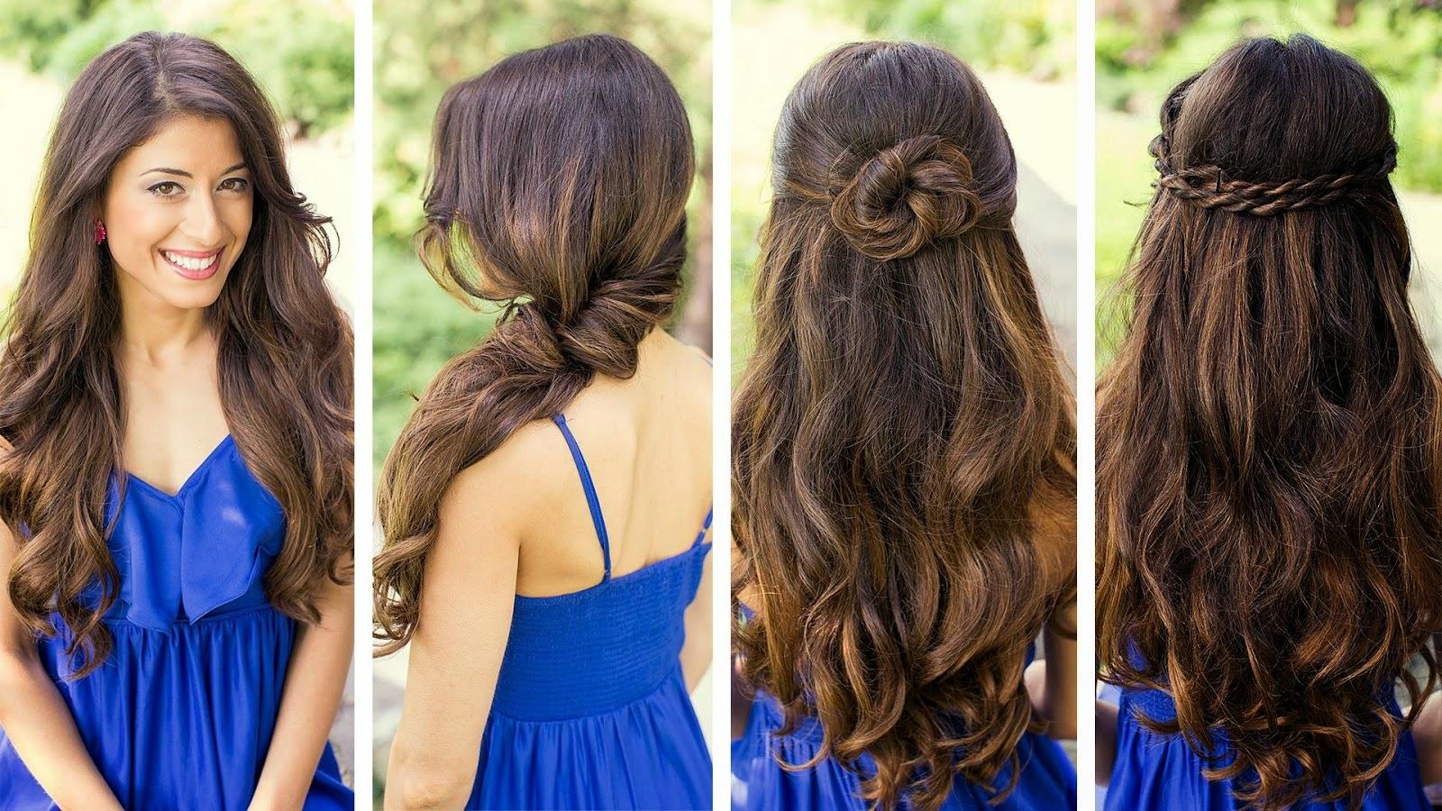 Peinados Faciles Cabello Largo Suelto