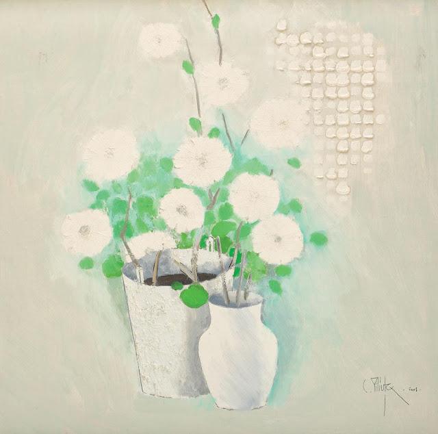 Constantin Piliuță - Flori albe
