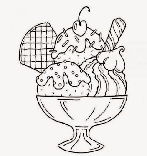 iced teas coloring pages - photo#19