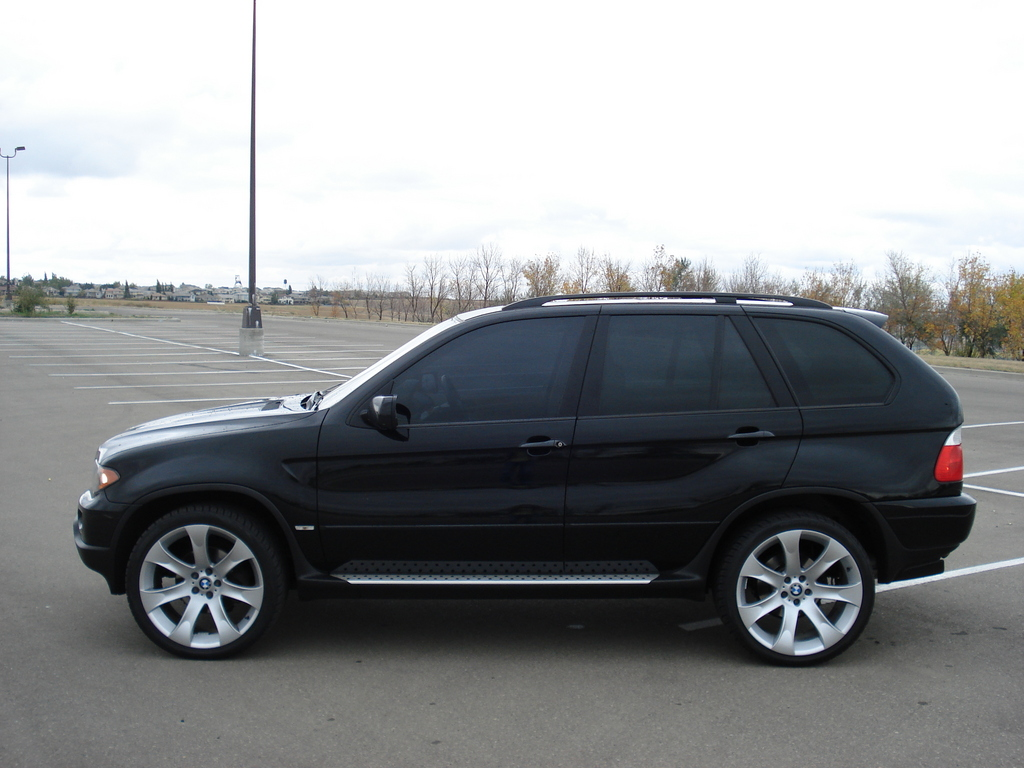 Bmw Automobiles Bmw X5 2004 Black
