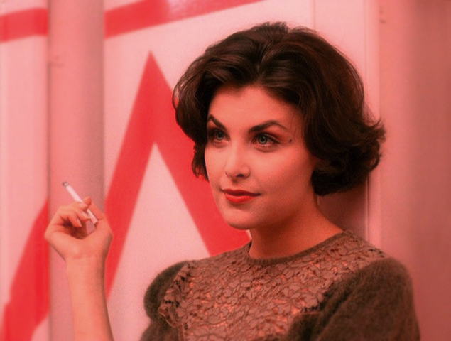 Hollywood Actress: Audrey Horne (from the television show Twin Peaks)