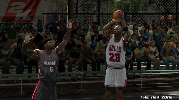 NBA 2K13 Blacktop Mode Roster - All Players Unlocked