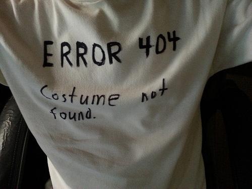 Non tutti voglio travestirsi, ad Halloween