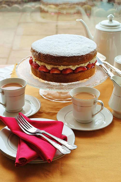 維多利亞海綿蛋糕 Victoria Sponge Cake01