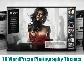 10 Fresh WordPress Photography Themes