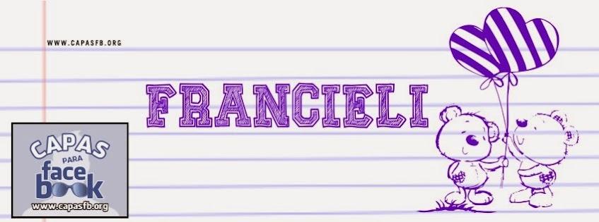 Capas para Facebook Francieli