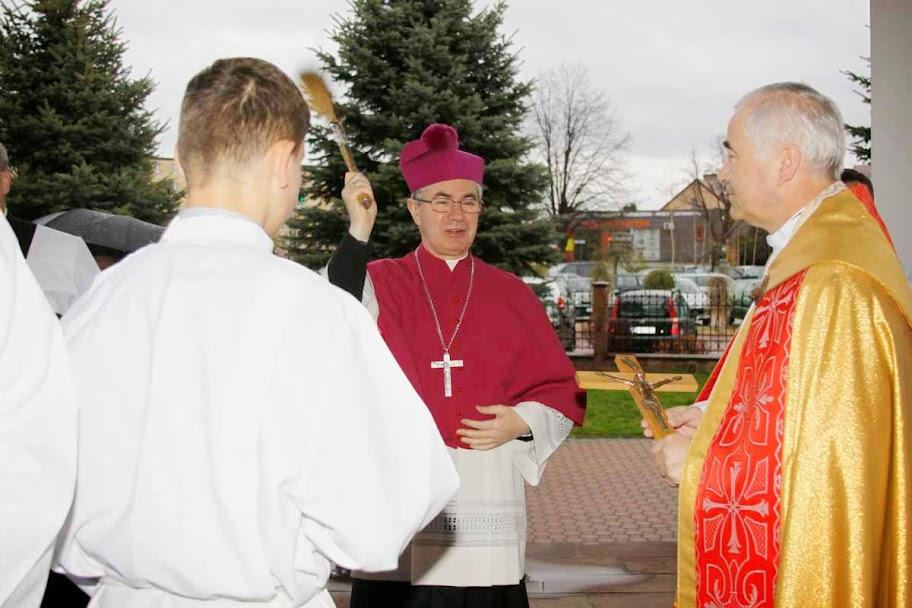 Wizytacja kanoniczna ks. bp Jan Wątroba