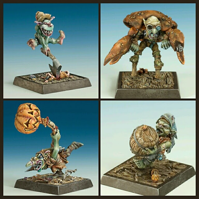 Goblins Piratas armas secretas Freebooter Miniatures