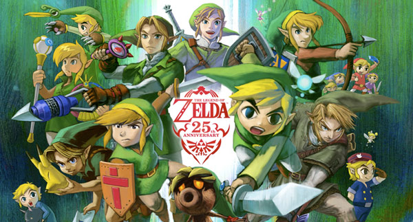 Legend of Zelda 25th Anniversary