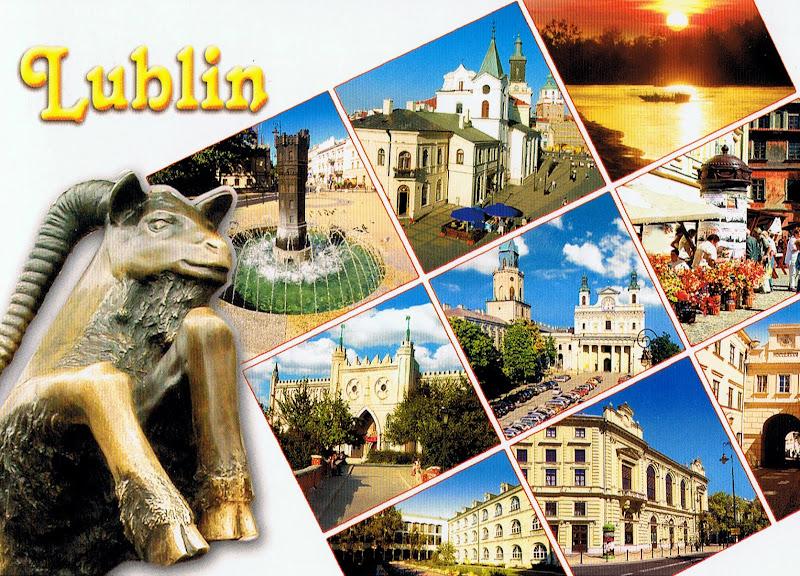 Lublin pocztówka