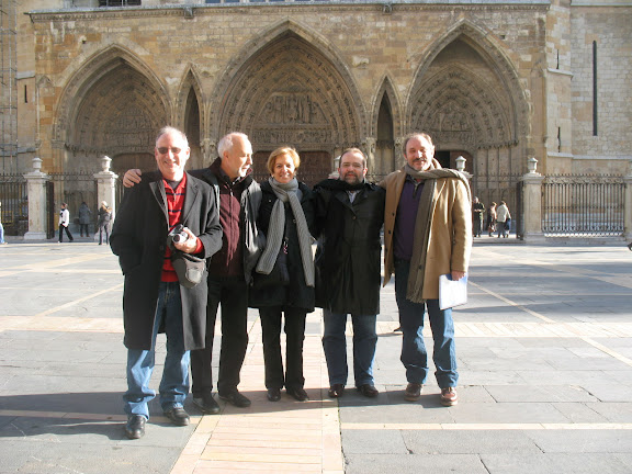Víctor, Julio, Pilar, Ferreiro y Rafael