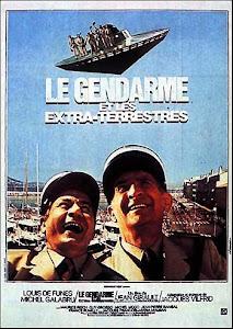 Cảnh Sát Và Người Ngoài Hành Tinh - Le Gendarme Et Les Extra-terrestres poster
