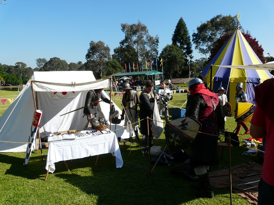 Company of the Staple at Blacktown Medieval Fayre