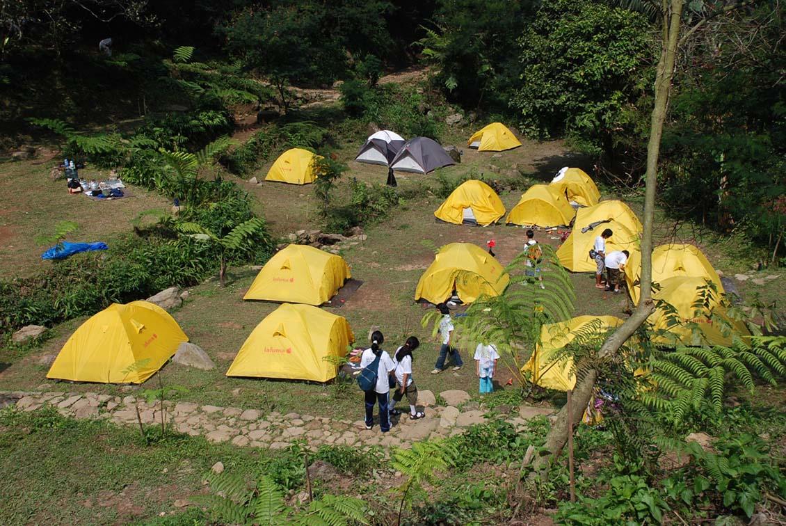 tempat camping paling hits