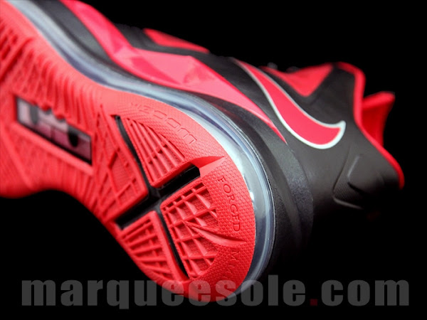 First Look at Nike LeBron X 10 in Black and Red With 6
