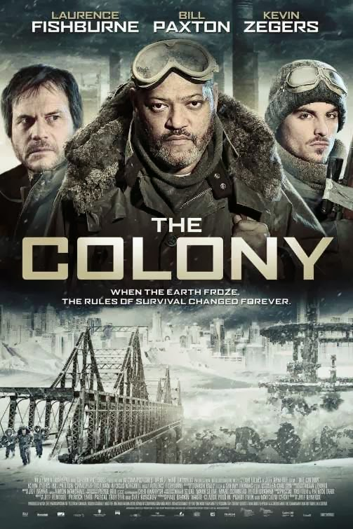 Poster Of English Movie The Colony (2013) Free Download Full New Hollywood Movie Watch Online At Alldownloads4u.Com